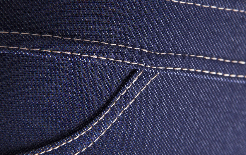 macro shot of Active Jeans denim So iLL