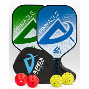 Apex Pinnacle Pro 2 Paddle Package - Pickleball Paddles Canada