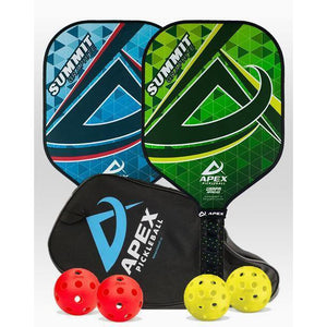 Apex Summit Graphite 2 Paddle Package - Pickleball Paddles Canada