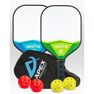 Apex Club Ignite 2 Paddle Package - Pickleball Paddles Canada