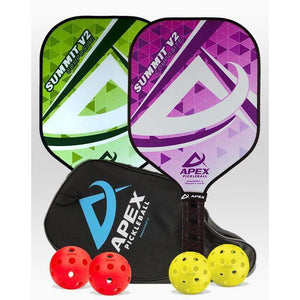 Apex Summit V2 Composite 2 Paddle Package - Pickleball Paddles Canada