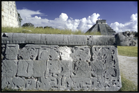 Chichen Serpent Relief Castillo