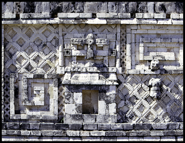 Chichen Hut Chacmool Mosaic