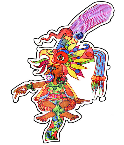 Pre-Columbian Art Sticker