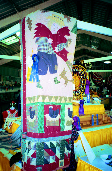 Michigan State Fair Blue Ribbon Quilt