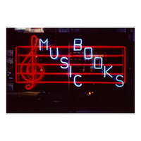 Music Books Neon NYC