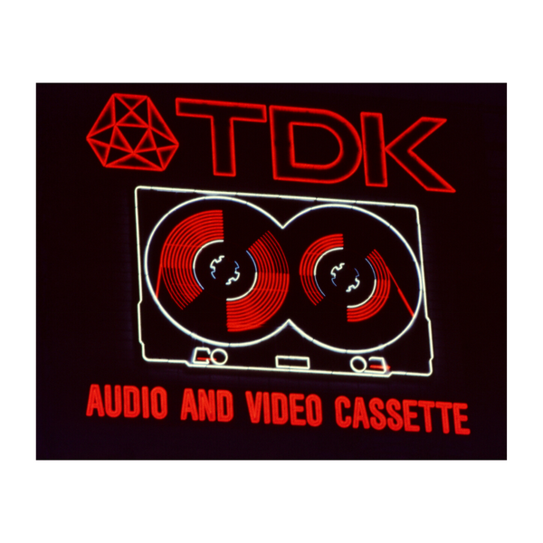 TDK Cassette Tapes Neon NYC