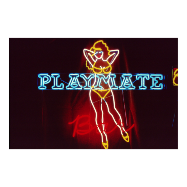 Vintage Playmate Bar Neon NYC