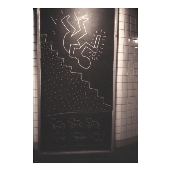 Keith Haring Subway Graffiti Art