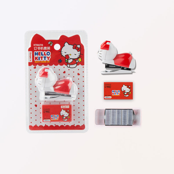 Hello Kitty Mini Cute Stapler School Supplies Stationery Office Products - Hello Kitty Camp