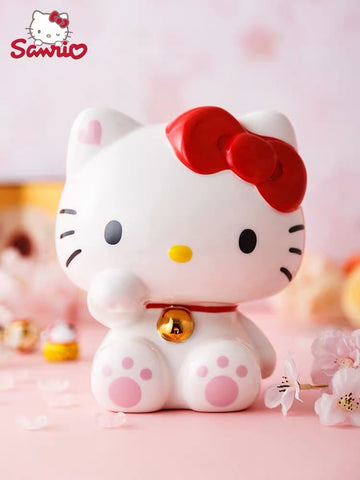 Hello Kitty Ceramic Money Bank - Hello Kitty Camp