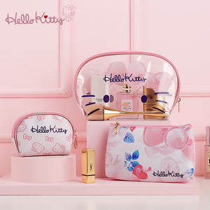Hello Kitty Waterproof Makeup Bags Multifunction Traveling Bags Set of 3 - Hello Kitty Camp