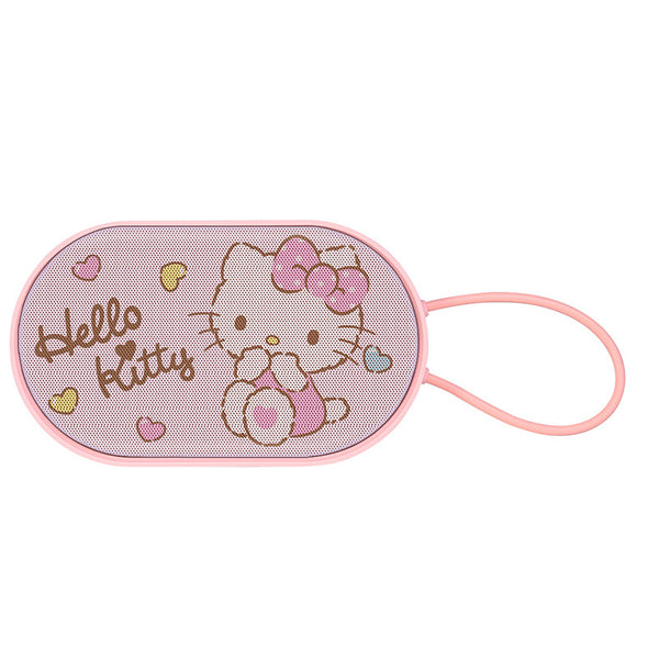 Hello Kitty Bluetooth Portable Speaker 1200 MAH - Hello Kitty Camp