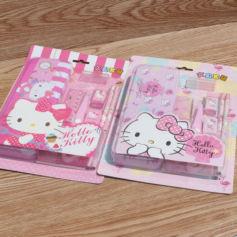 Hello Kitty Stationery Set Gift Set School Supplies - Hello Kitty Camp