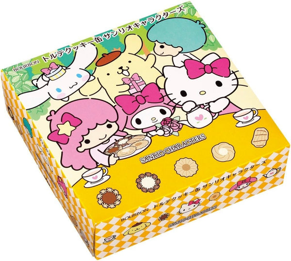 Bourbon Sanrio Torte Cookies In Tin Can - Hello Kitty Camp