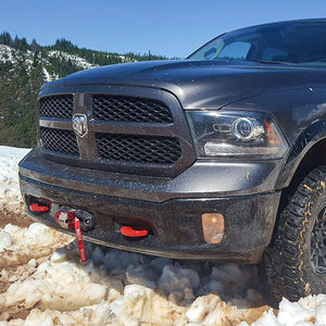 RAM 1500 (2013-2018) Hidden Winch Mount