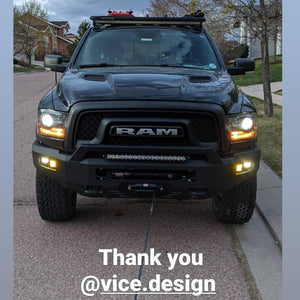 RAM Rebel (2015-2018) WINCH Front Bumper