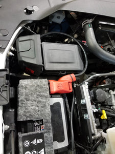 RAM / WARN VR EVO Control Box Relocation Kit