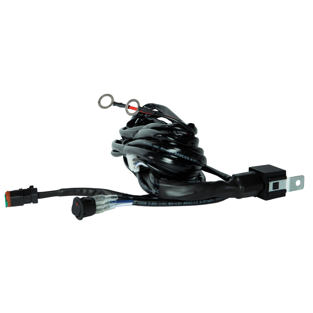 Speed Demon Lights: H1 Wiring Harness & Switch Kit (Single Light)