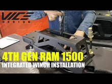 Load and play video in Gallery viewer, RAM 1500 (2013-2018) Hidden Winch Mount