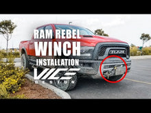 Load and play video in Gallery viewer, RAM Rebel (2015-2018) Hidden Winch Mount