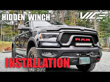 Load and play video in Gallery viewer, RAM 1500 DT (2019-2021) Hidden Winch Mount