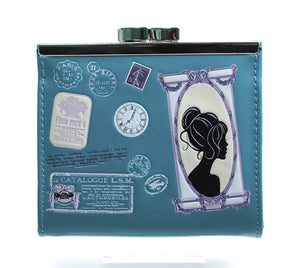 CP 0646 - VINTAGE CAMEO ( DK. TEAL COLOR )