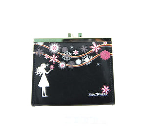 CP 0711 - FLOWER GIRL ( BLACK COLOR )