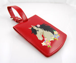 LT 0866 - HORSE ( RED COLOR )