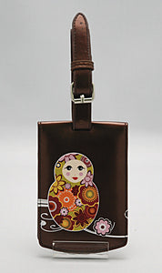 LT 0937 - RUSSIAN DOLLS ( BROWN METALLIC COLOR )