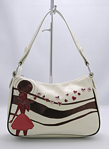 PRS 0981 - KISSING GIRL ( CREAM COLOR/8X12 )