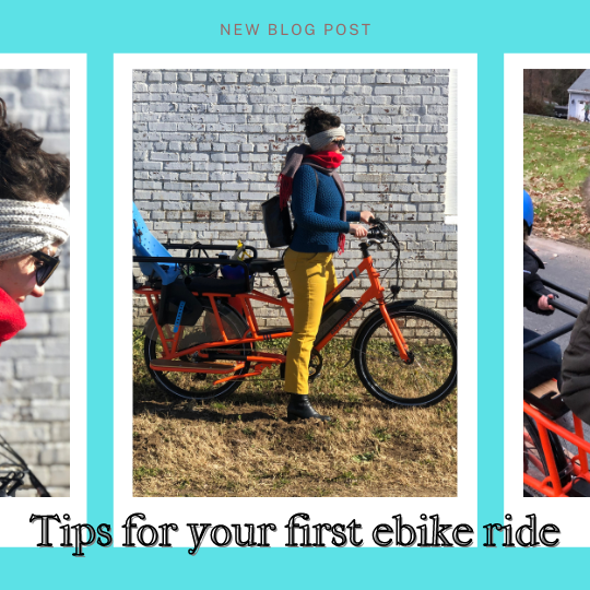 Tips for your first ebike ride