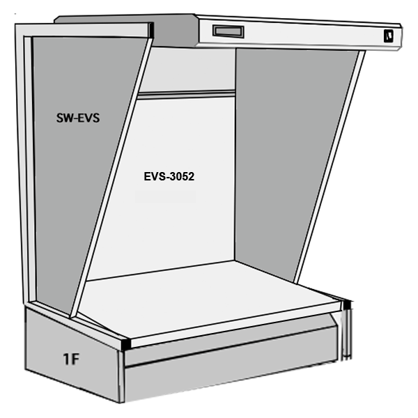 GTI EVS-3052 Desktop Light Booth