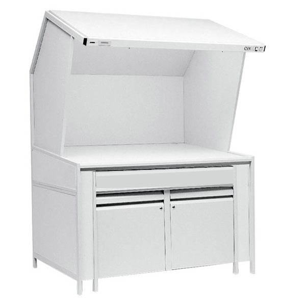 GTI CVX-3 Storage Cabinet Light Booth