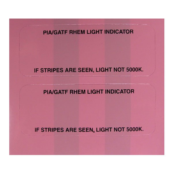 PIA/GATF RHEM Light Indicator