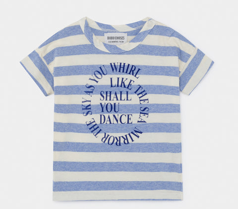 Shall You Dance Striped T-Shirt (Baby)