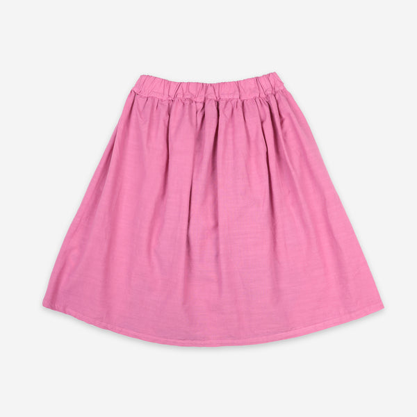 Play All Over Woven Midi Skirt