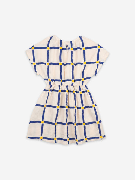Cube All Over Woven Dress