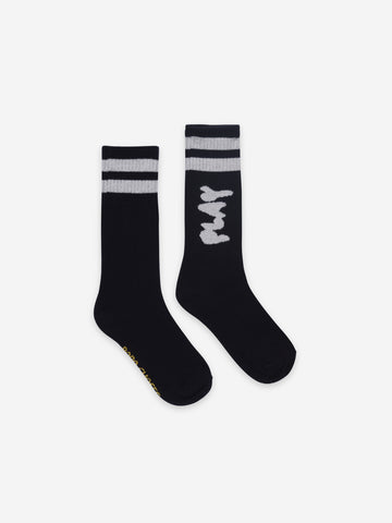 Play Black Long Socks