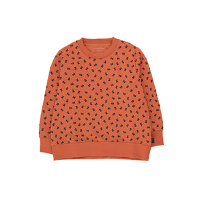 Tiny Flowers Sweatshirt sienna/navy