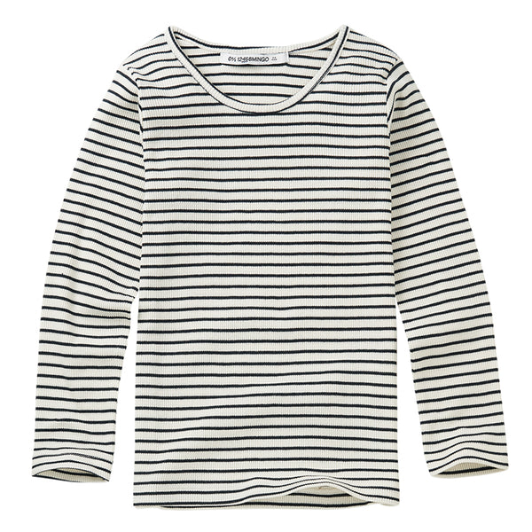 Rib Top Stripes White / Black
