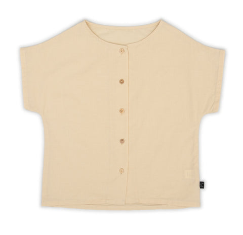 Creme Button Shirt