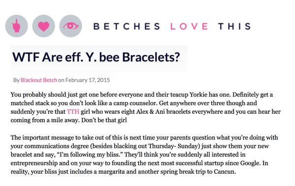 We're Featured on Betches Love This!