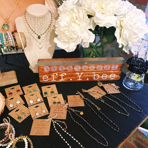 Host your own eff.Y.bee trunk show!