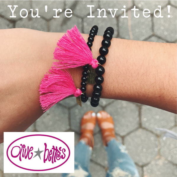 Trunk Show at Olive & Bette's NYC!
