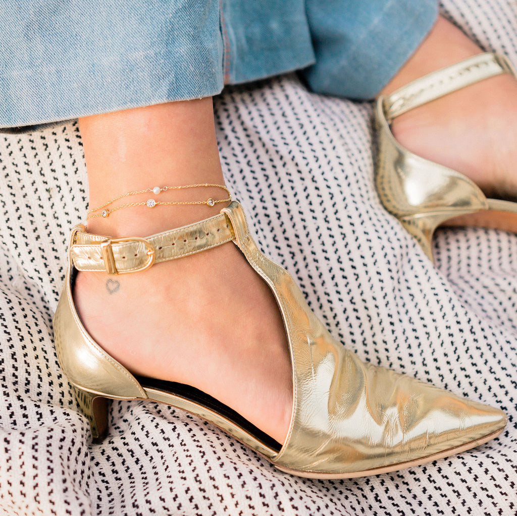 RIAN ANKLET GOLD