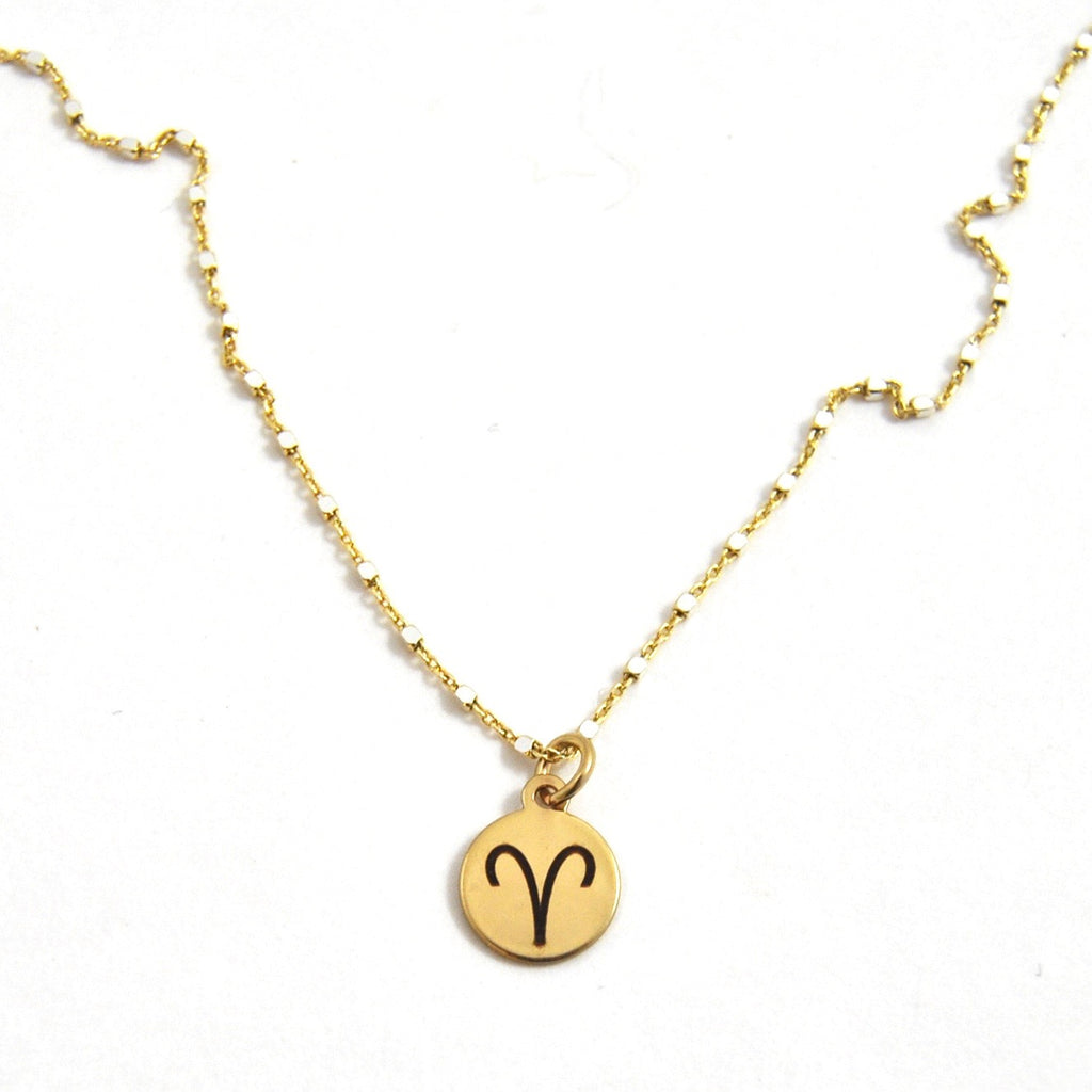 Aries Charm Necklace - eff.Y.bee