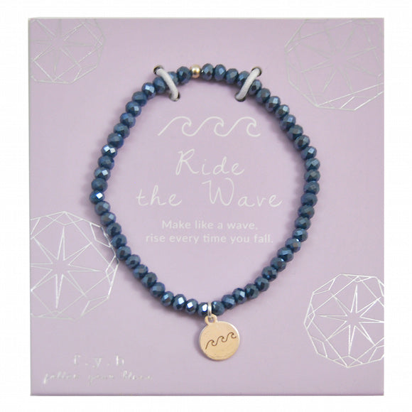 MINI CRYSTAL NAVY RIDE THE WAVE - eff.Y.bee
