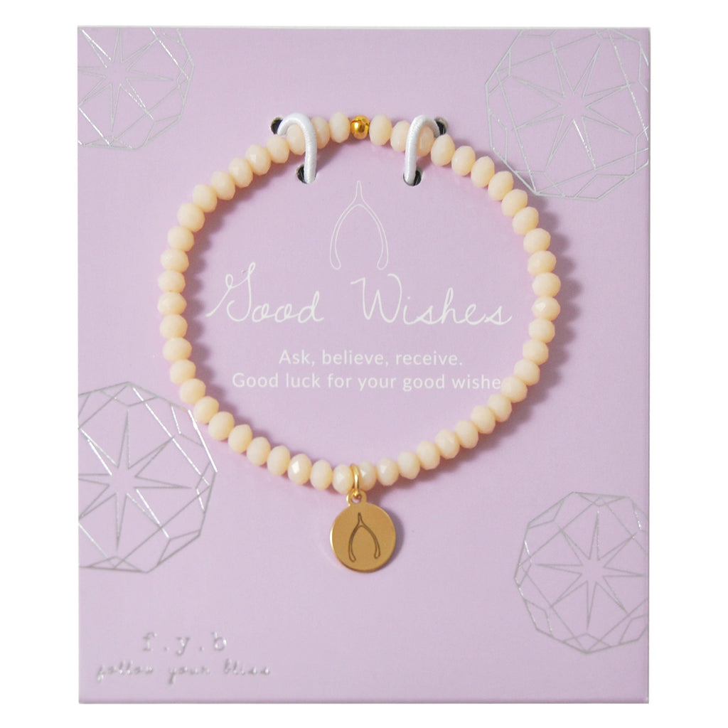 MINI CRYSTAL PEACH GOOD WISHES - eff.Y.bee