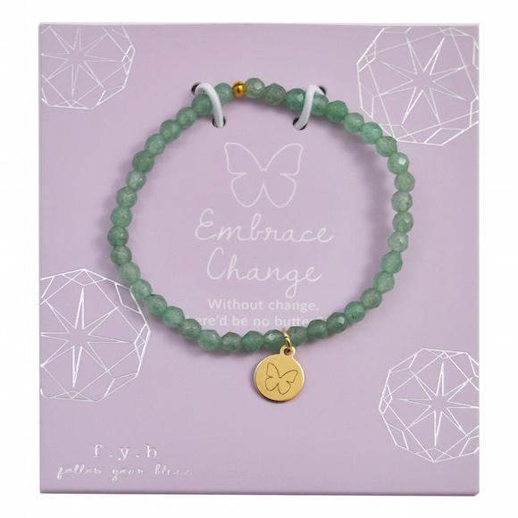 MINI AVENTURINE EMBRACE CHANGE - eff.Y.bee